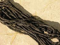 Black 1/8 Cording