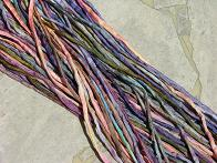 Assortment Peach Violet Multis Silk Cord