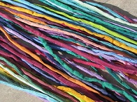 Assortment Jazz 2-3mm Silk Cords