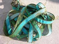 Coral Reef Silk Ribbons