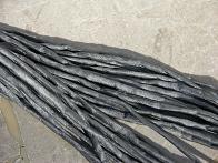 Gray  2-3 mm Cords