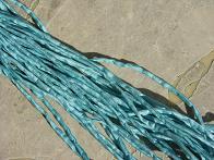 Teal Light 2-3 mm Silk Cords