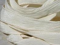 Ivory Silk Ribbons