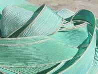 Sea Glass Silk Ribbons